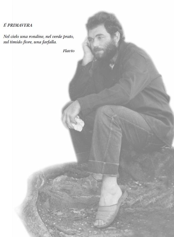 Flavio a Bocaranga nel 1988 - foto scattata dal Dott. Leo Guadagno