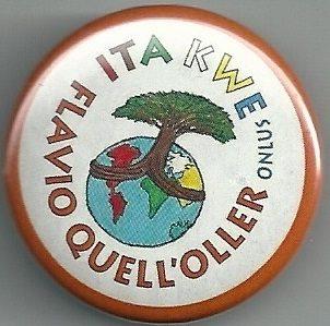 Spilla con logo