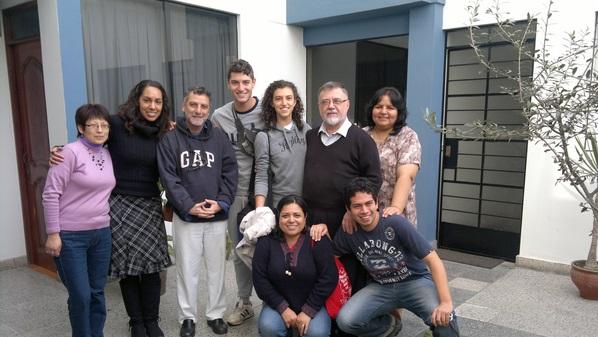 partenza Miriam e Francesco da Lima