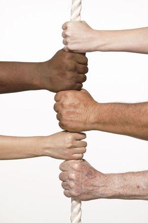 L'unione fa la forza e tante mani unite lavorano meglio di due!