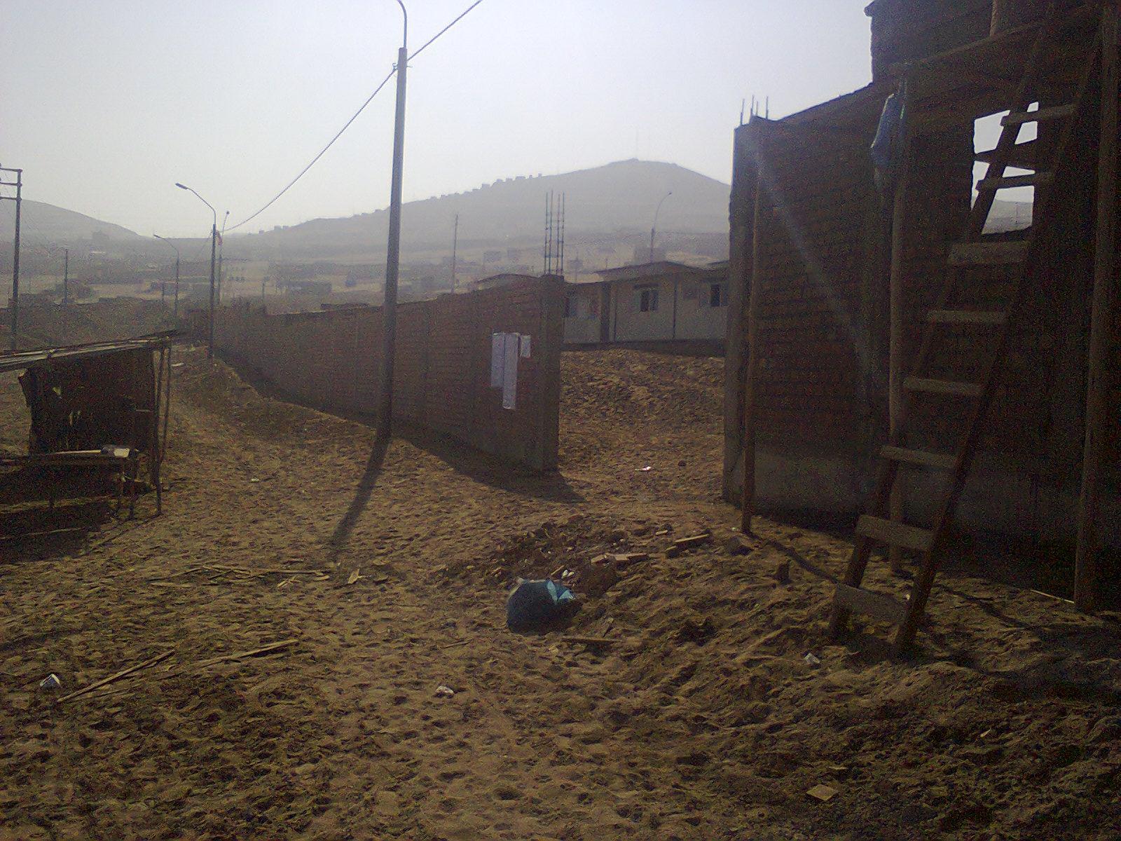 muro perimetrale