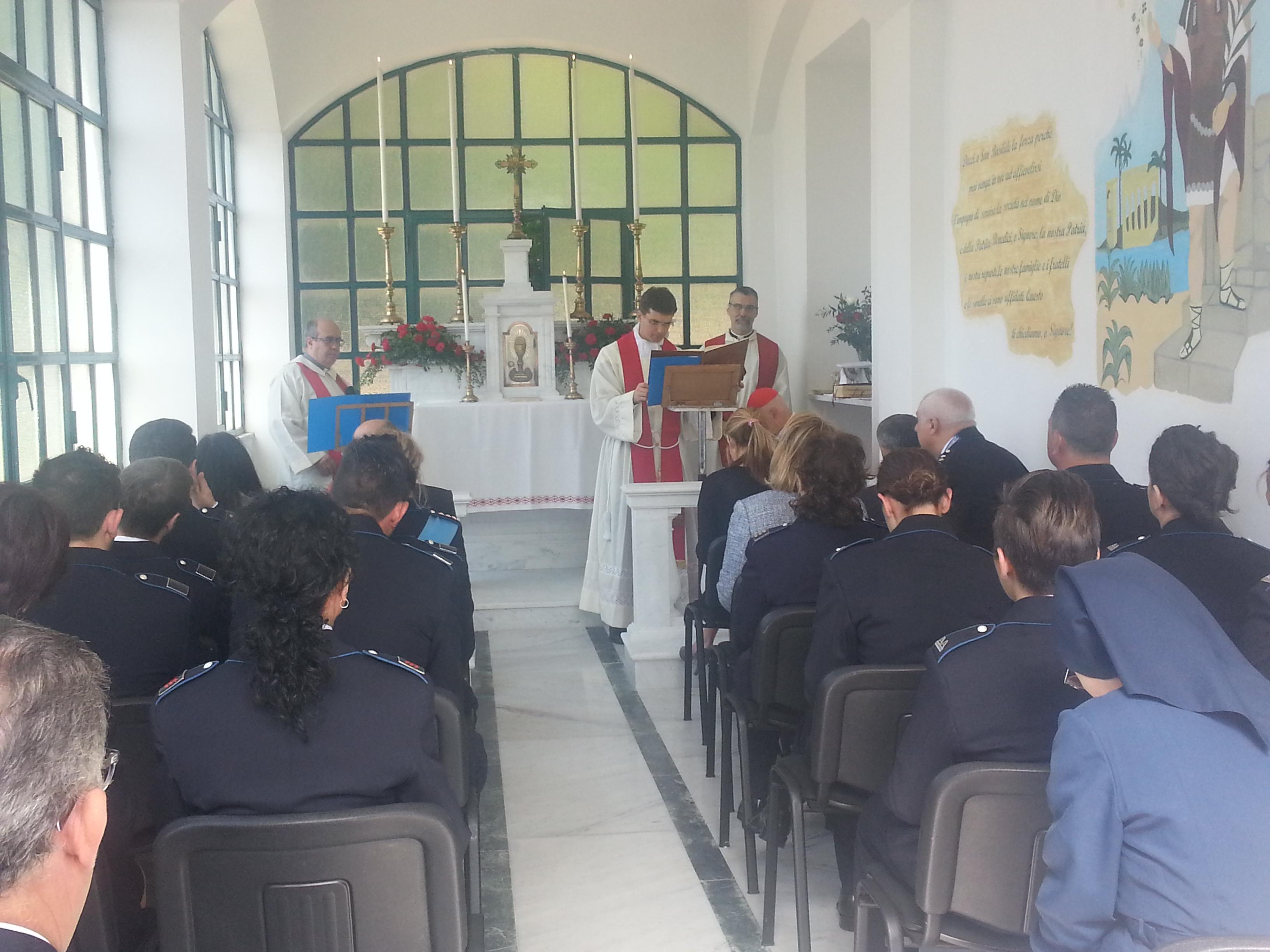 Consacrazione Cappella per il personale carcerario