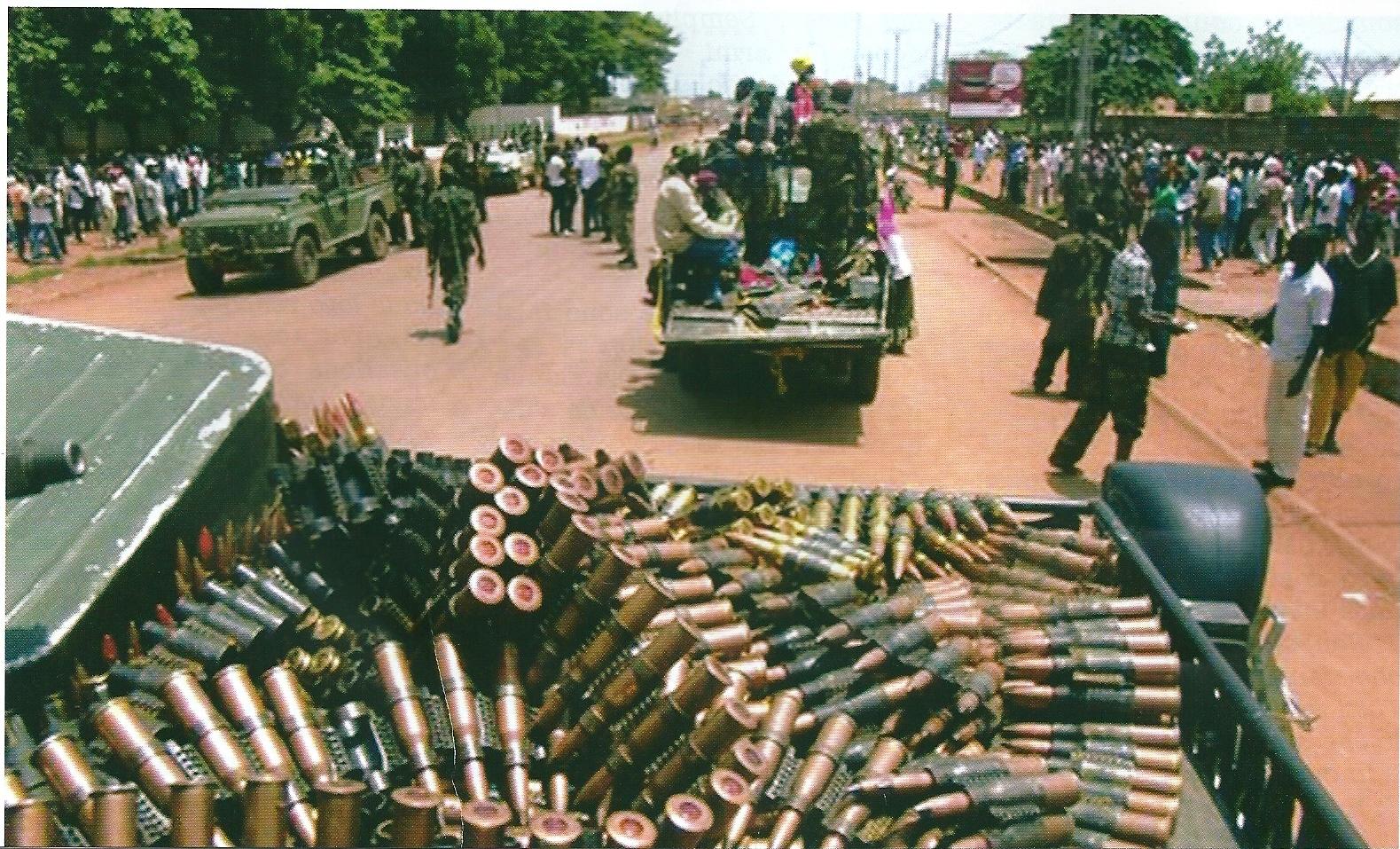 Colpo di stato della Seleka in Centrafrica, violenza e sangue sono all'ordine del giorno.