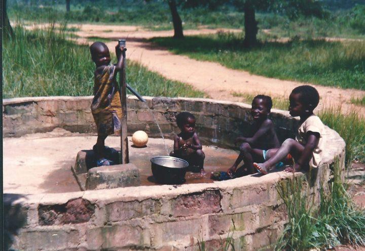Pozzo a Bocaranga . Agosto 1989