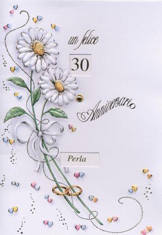 30 anniversaro - perla