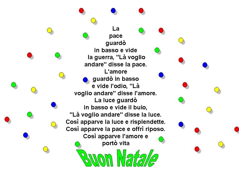 Poesie Di Natale Sulla Pace.Pace A Tutti Ita Kwe Flavio Quell Oller Onlus