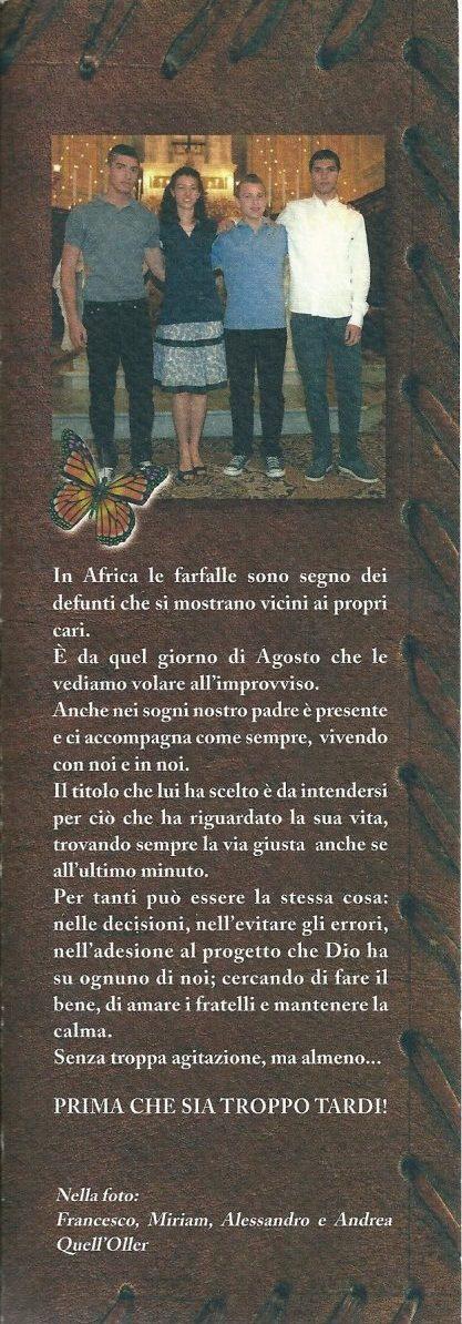 ricordo di Miriam, Andrea, Francesco e Alessandro