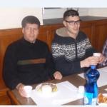 p, Alfonso, Francesco e Jeorge
