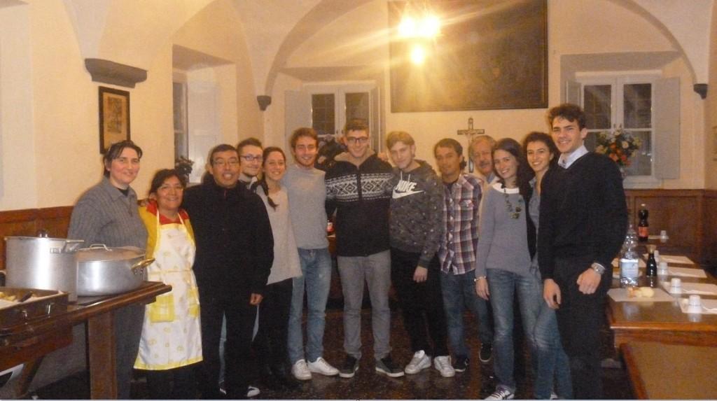 Visita a Genova di Don Danilo e Don Alfonso - Gen. 2014