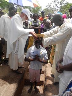 Battesimi impartiti nelle cerimonie della Settimana Santa 2014