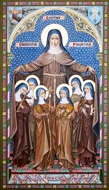 Santa Chiara e le sue sorelle