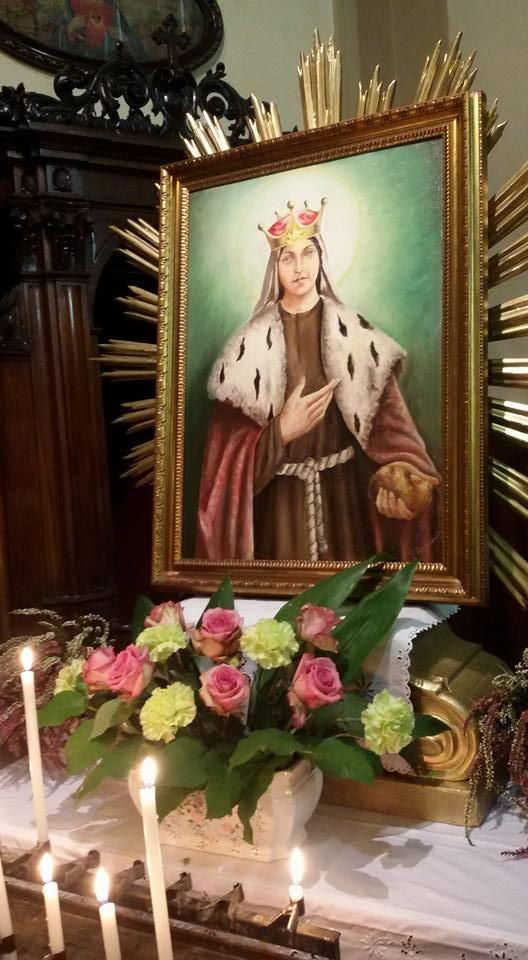 Dipinto esposto nella chiesa dei frati cappuccini a Pontedecimo