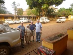 Battista e Marco a Bangui