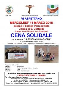 CENA SAN GOTTARDO 11/03/2015