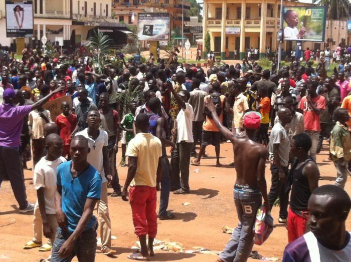 """ancora disordini, violenze e uccisioni nei """"quartieri caldi"""" di Bangui"""