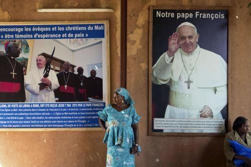 Il Papa in Centrafrica