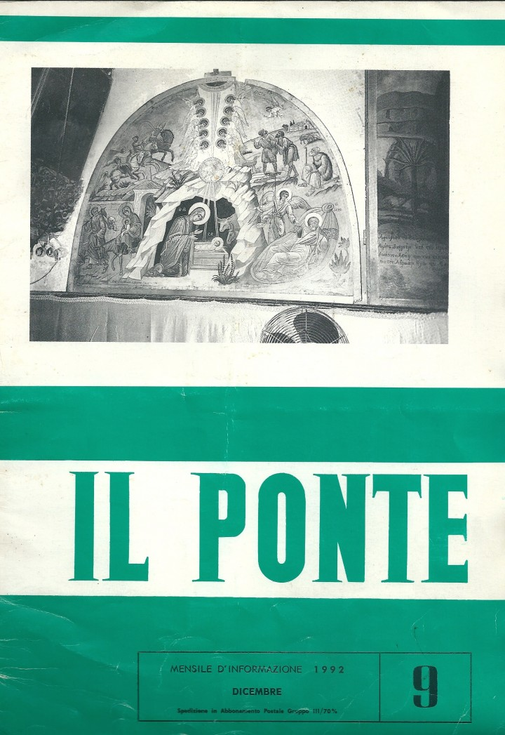 Copertina Ponte - Dic. 1992