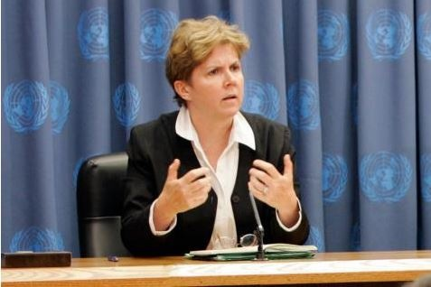 Jane Holl Lute - nuova responsabile dell'ONU per abusi sessuali in R.C.A.