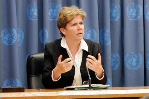 Jane Holl Lute - nuova responsabile dell'ONU per abusi sessuali in R.C.A.