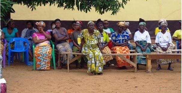 Donne della zona di Bangui