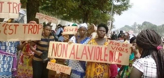 Manifestazione contro la violenza
