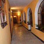 Corridoio chiostro per ingresso salone dall'interno