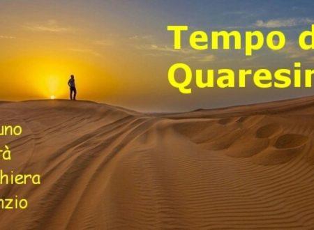 Deserto, digiuno, preghiera e carità