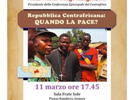 Incontro per il Centrafrica