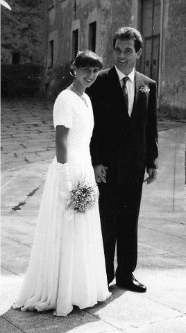 15-9-1990 Flavio e Silvana sposi